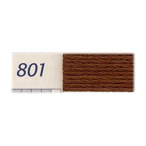 DMC刺繍糸 25番刺しゅう糸 801