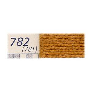 DMC刺繍糸 25番刺しゅう糸 782