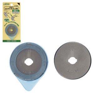 クロバー 57-503 ロータリーカッター 替刃 45mm 1枚入x5枚セット
