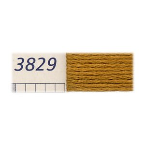 DMC刺繍糸 25番刺しゅう糸 3829