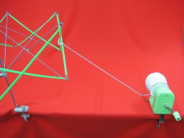 ドレスイン 玉巻き器 毛糸や糸を玉巻きにする 【参考画像5】