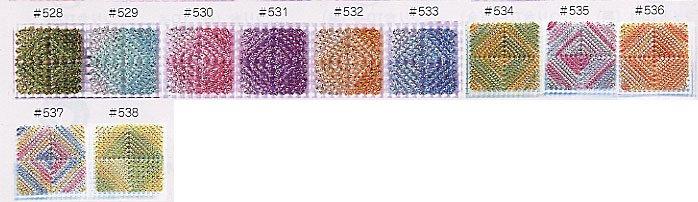 パナミ メタリックヤーン ルビー 1箱(10玉) No.537 【参考画像3】