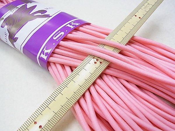 金天馬 ウーリーゴム ピンク M 直径約3mm 30m綛 KW11252 【参考画像1】