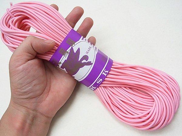 金天馬 ウーリーゴム ピンク M 直径約3mm 30m綛 KW11252 【参考画像3】