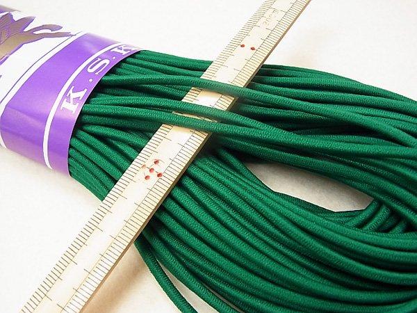 金天馬 ウーリーゴム 緑 M 直径約3mm 30m綛 KW11259 【参考画像1】
