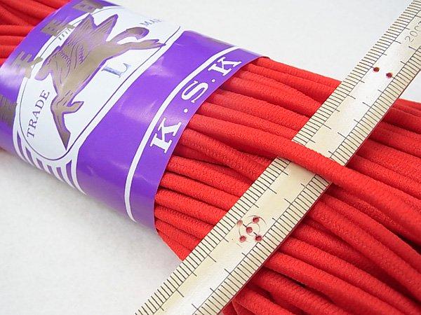 金天馬 ウーリーゴム 赤 L 直径約4mm 30m綛 KW00143 【参考画像2】