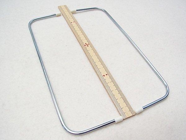 ジャスミン ワイヤー口金 U180 幅約18cmX高さ約5cm 【参考画像4】