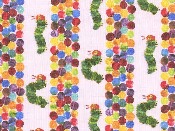 ■廃番■ はらぺこあおむし キャラクター生地 ピンク 2015年度版 【参考画像1】