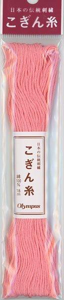 オリムパス こぎん糸 桃色 col.142 【参考画像1】