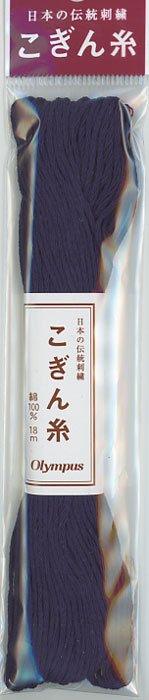 オリムパス こぎん糸 濃紺 col.335 【参考画像1】