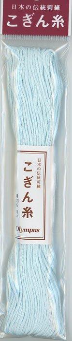 オリムパス こぎん糸 空色 col.362 【参考画像1】