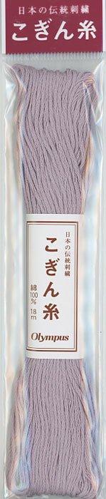 オリムパス こぎん糸 薄紫 col.484 【参考画像1】