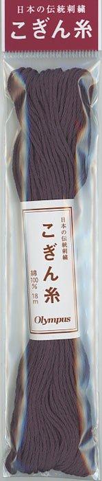 オリムパス こぎん糸 パープル系 col.655 【参考画像1】