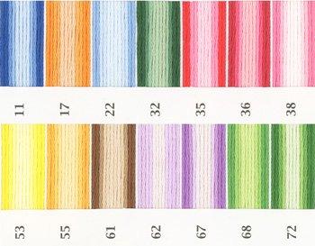 オリムパス刺繍糸 25番 ボカシ
