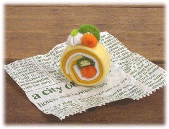 ■廃番■ ロイヤル スイーツカフェキット フェルト手芸キット ロールケーキ フルーツ