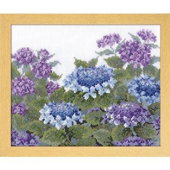 オリムパス 刺繍キット 紫陽花 7451