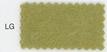 クレヨンフェルト 黄緑 col.LG 厚さ約2.2mm 55cm幅x50cm