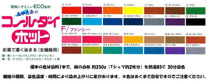 ■廃番■ コールダイホット col.71 サックスブルー みや古染 ECO染料 【参考画像4】