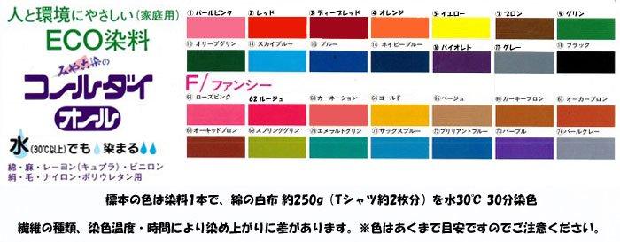 ■廃番■ コールダイオール col.71 サックスブルー みや古染 ECO染料 【参考画像4】