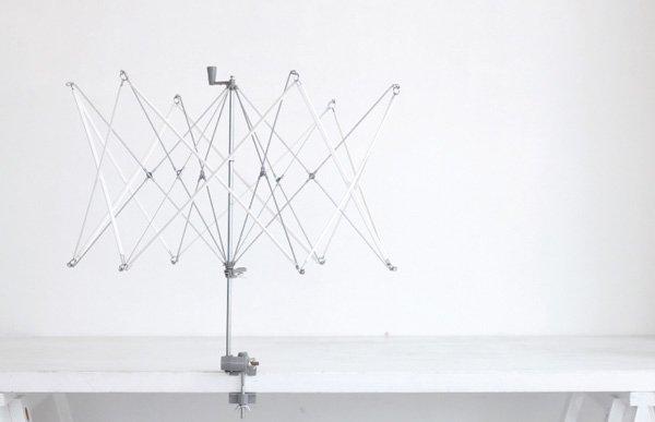 横田 ダルマ かせくり器 毛糸や糸をカセにする 【参考画像1】