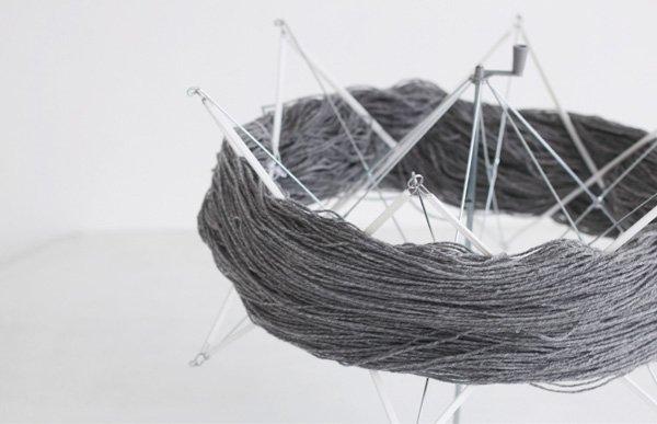 横田 ダルマ かせくり器 毛糸や糸をカセにする 【参考画像3】