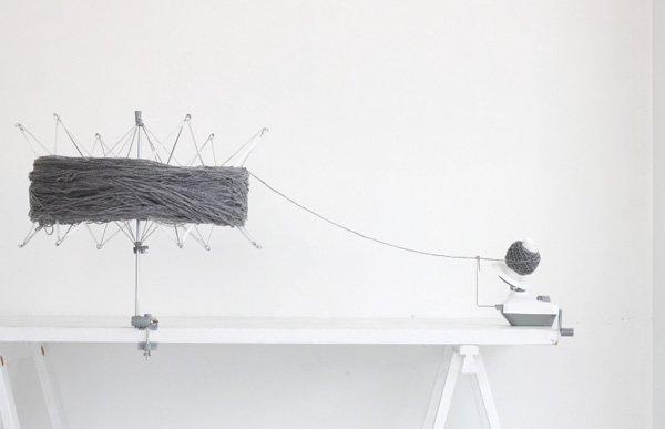 横田 ダルマ かせくり器 毛糸や糸をカセにする 【参考画像4】