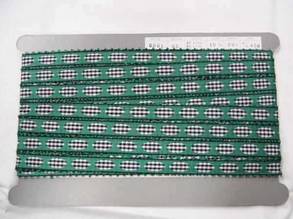 手芸用ブレード グリーン系 15mm幅 20m巻 6301-65 【参考画像5】