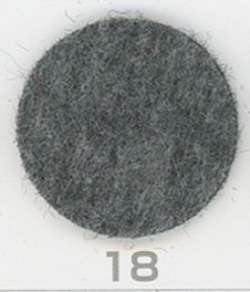 サンフェルト トラッドフェルト 厚さ約2mm 90cm幅 col.18 グレー2