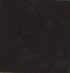 サンフェルト アメリカンカントリーフェルト col.H980 ブラック
