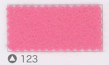 サンフェルト ミニーフェルト col.123 ピンク4