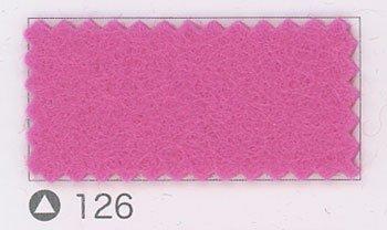 サンフェルト ジャンボフェルト col.126 ピンク5