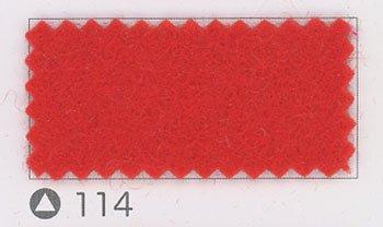 サンフェルト ジャンボフェルト col.114 赤系2