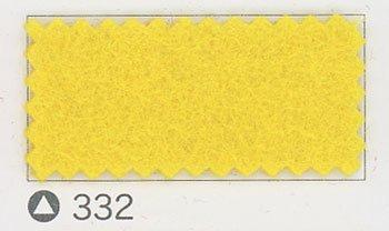 サンフェルト ジャンボフェルト col.332 黄色2