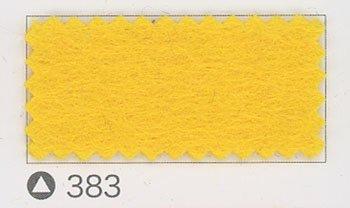 サンフェルト ジャンボフェルト col.383 黄色4