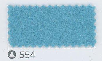 サンフェルト ジャンボフェルト col.554 水色2