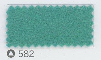 サンフェルト ジャンボフェルト col.582 グリーン系3