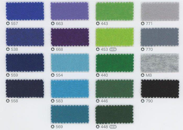 サンフェルト ジャンボフェルト col.662 紫2 【参考画像4】