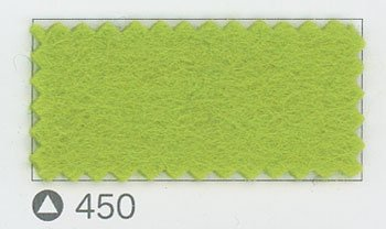 サンフェルト ジャンボフェルト col.450 若草