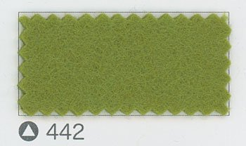 サンフェルト ジャンボフェルト col.442 グリーン系4