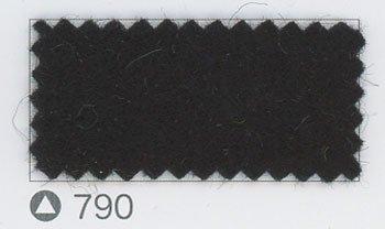 サンフェルト ジャンボフェルト col.790 黒