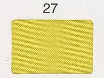 シルックサテン生地 col.27 黄色 ポリエステルサテン
