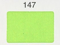 シルックサテン生地 col.147 蛍光黄緑 ポリエステルサテン