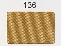 シルックサテン生地 col.136 黄土色 ポリエステルサテン