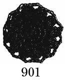 オリムパス レース糸 エミーグランデ 50g col.901 黒 【参考画像1】
