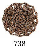 オリムパス エミーグランデ col.738 1箱(3玉入x50g)