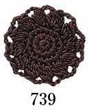 オリムパス エミーグランデ col.739 1箱(3玉入x50g)