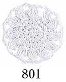 オリムパス エミーグランデ col.801 白 1箱(6玉入x100g)