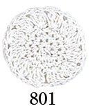オリムパスレース糸 金票 40番 10g 白 col.801 【参考画像1】