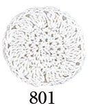 オリムパスレース糸 金票 40番 白 col.801 1箱(3玉入x10g)