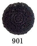 オリムパスレース糸 金票 40番 黒 col.901 1箱(3玉入x10g)